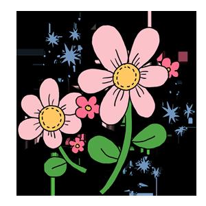 花 植物 なおこさんのフリーイラスト 無料素材 フリーイラスト アイコン 無料 イラスト イラスト無料 無料イラスト