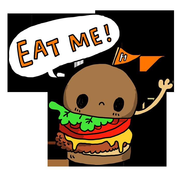ハンバーガー 食べ物 なおこさんのフリーイラスト 無料素材 フリーイラスト アイコン 無料 イラスト イラスト無料 無料イラスト