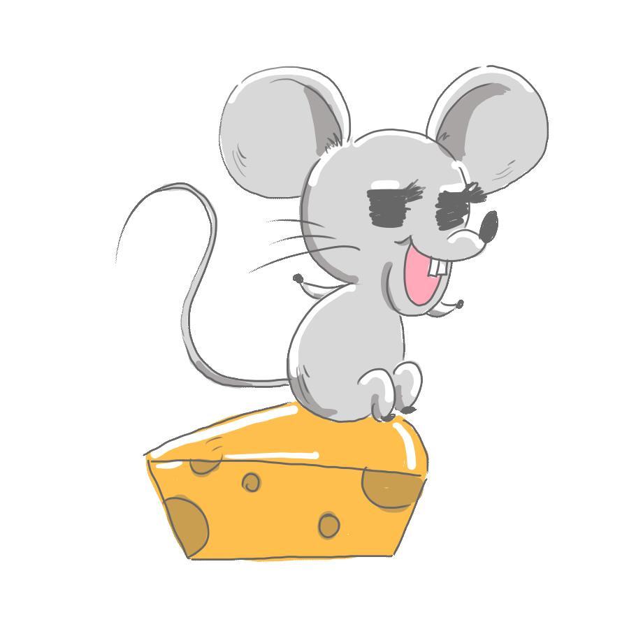 ネズミ ねずみ チーズ お正月 正月 背景 病み ゆるイラスト ゆるい なおこさんのフリーイラスト 無料素材 フリーイラスト アイコン 無料 イラスト イラスト無料 無料イラスト