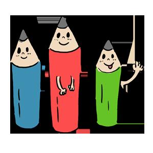 勉強 鉛筆 ペンシル 学校 ゆるい ゆるいイラスト なおこさんのフリーイラスト 無料素材 フリーイラスト アイコン 無料 イラスト イラスト無料 無料イラスト
