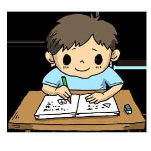 男の子 学校 勉強 宿題 ななかまど なおこさんのフリーイラスト 無料素材 フリーイラスト アイコン 無料 イラスト イラスト無料 無料イラスト