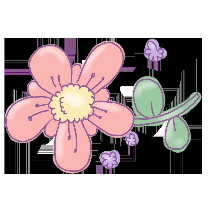 植物 花 お花 ゆるイラスト ゆるい なおこさんのフリーイラスト 無料素材 フリーイラスト アイコン 無料 イラスト イラスト無料 無料イラスト