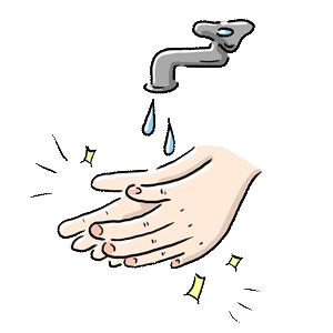 コロナ 手洗い 清潔 手 蛇口 ゆるイラスト ゆるい なおこさんのフリーイラスト 無料素材 フリーイラスト アイコン 無料 イラスト イラスト無料 無料イラスト