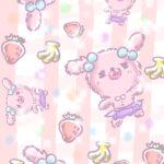 壁紙 スマホ壁紙 スマホ ウサギ ピンク ゆるい ゆるかわ ゆめかわいい ゆめかわ なおこさんのフリーイラスト 無料素材 フリーイラスト アイコン 無料 イラスト イラスト無料 無料イラスト