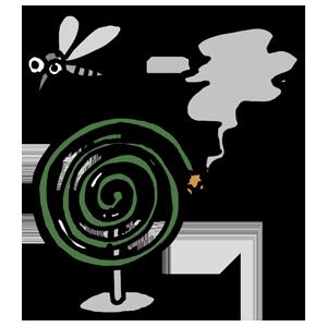 ゆるい ゆるいイラスト 夏 夏のイラスト 季節 季節のイラスト 蚊取り線香 蚊取線香 蚊 物のイラスト 物 日用品 生活用品 なおこさんのフリーイラスト 無料素材 フリーイラスト アイコン 無料 イラスト イラスト無料 無料イラスト